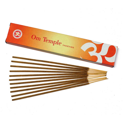 Om Temple Incense 15 grams.