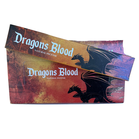 New Moon Dragon's Blood Incense Sticks