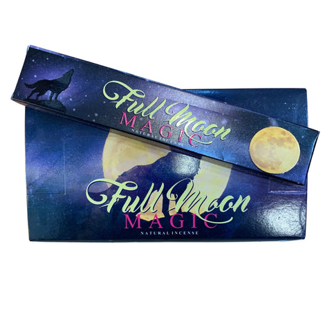 New Moon Full Moon Magic Incense Sticks
