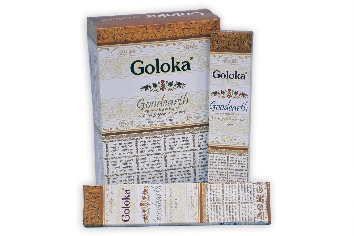Goloka Good Earth Incense 15 grams