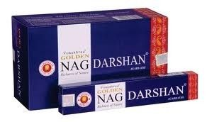 Golden Nag Darshan Incense Sticks 15 grams