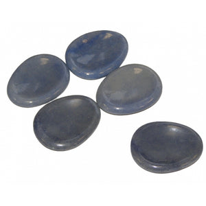 Angelite Thumb / Worry Stone