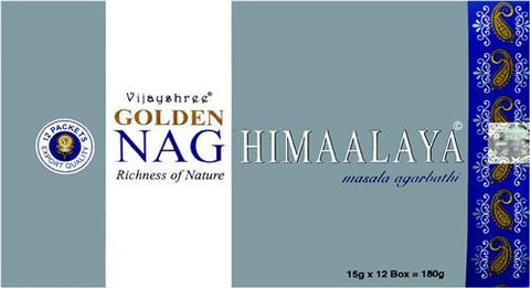 Golden Nag Himalaya Incense Sticks 15 grams