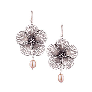 Yvone Christa_Edelweiss earrings - large_E4273