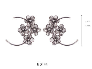 FLOATING FLOWER EARRINGS