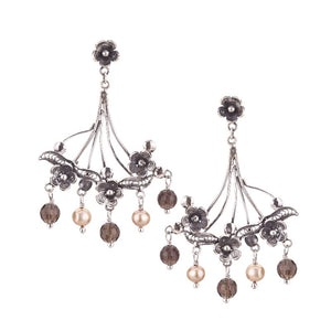 Yvone Christa_Bouquet of flowers earrings_E4240