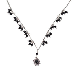 C1402 SINGLE FLOWER NECKLACE by Yvone Christa