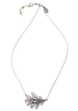 Yvone Christa_Oak leaf necklace_C5090
