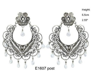 Frida chandelier post earrings