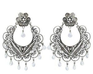 Yvone Christa_FRIDA CHANDELIER POST EARRINGS_E1607 post