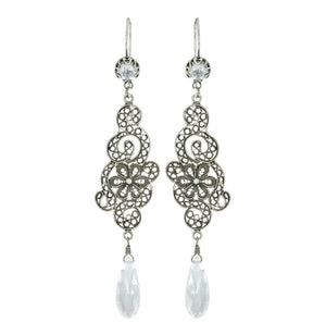 Yvone Christa_LA VIE EN ROSE CHANDELIER EARRINGS _E3500