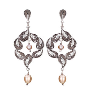 Yvone Christa_GARDEN OF EDEN EARRINGSåÊWITH PEARLS_E3751