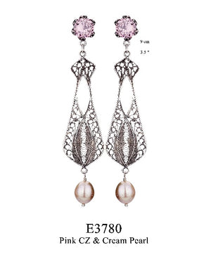 Elizabethan Chair-ity earrings