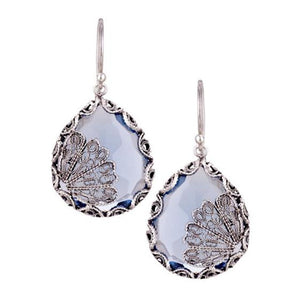 YVONE CHRISTA_JAPANESE FAN FILIGREE EARRINGS _E3961