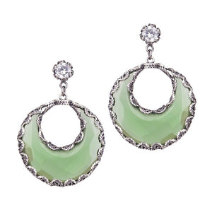 Yvone Christa_AQUA DECOR CRESENT MOON EARRINGS_E3965