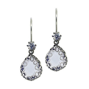 YvoneChrista_Teardrop earrings - Clear AL_E4313c