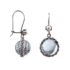 Yvone Christa_MORNING DEW DROP EARRINGS - LIGHT BLUE_E5100
