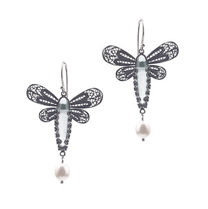 Yvone Christa_Dragon Fly Earring_E5128