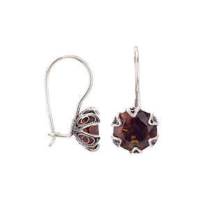 Yvone Christa_ECZ002ha_Amber AL_TULIP CUP HANGING EARRINGS - MEDIUM