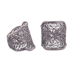 YVONE CHRISTA_SQUARE FILIGREE RING_R3678