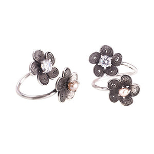 Yvone Christa_DOUBLE TINY PHLOX FLOWER RING_R4143