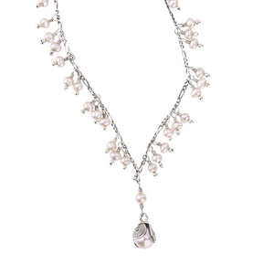 LILY OF THE VALLEY NECKLACE by Yvone Christa  C556