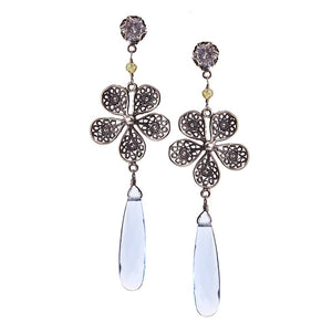 Yvone Christa_HORTENSIA FLOWER EARRINGS_E4004