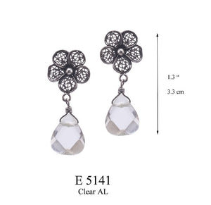 Lace Daisy earrings