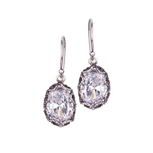 YVONE CHRISTA_OVAL FILIGREE DROP EARRINGS_E3928