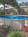 Orca Oval Deep End Family Pool - 3.66m
