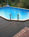 Orca Oval Deep End Family Pool - 3.66m Width