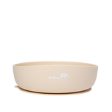 Silicone Baby Plate Bowl - Sand