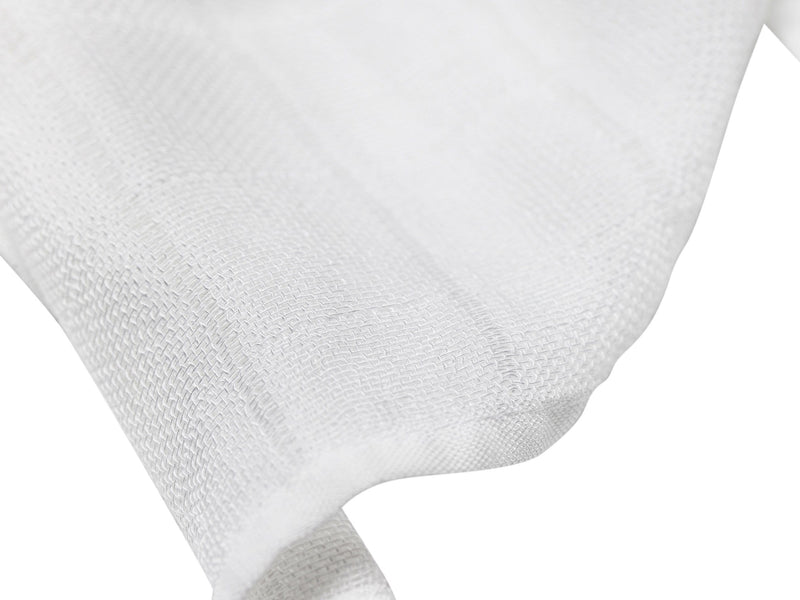 LES ENFANTS Muslin Blanket Grey / White