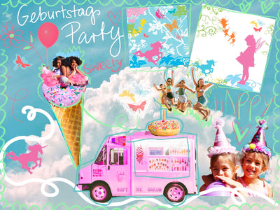 party-karten-set-kleine-fee-collage-crazycreative-by-gabriele-van-Flierdt