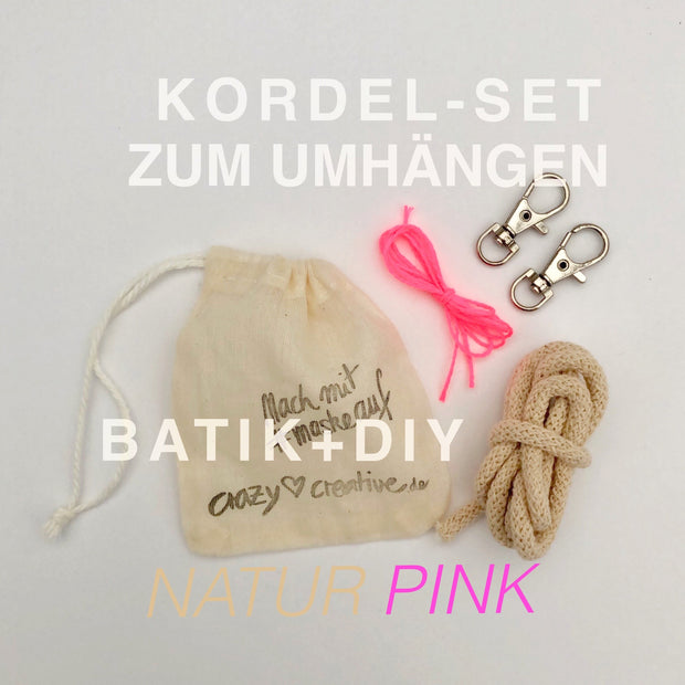 kordel-set-maske-batik-natur-pink-crazycreative.de-by-gabriele-van-de-flierdt-photo-1