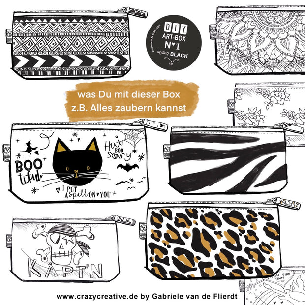 meine-schöne-nachhaltige-diy-art-box-styling-black-friendship-crazycreative.de-by-gabriele-van-de-flierdt-collage