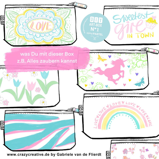 meine-schöne-nachhaltige-diy-art-box-styling-pastel-friendship-crazycreative.de-by-gabriele-van-de-flierdt-collage-pastel