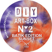 diy-art-box-2-maske-batik-set-sunset-crazycreative.de-by gabriele-van-de-flierdt-sticker