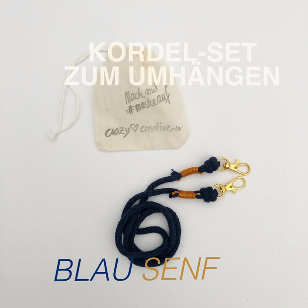 Kordel-set-maske-baumwolle-blau-senf-crazycreative.de-by-gabriele-van-de-flierdt-photo-1