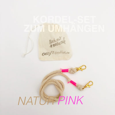 kordel-set-maske-baumwolle-natur-pink-crazycreative.de-by-gabriele-van-de-flierdt-photo-1