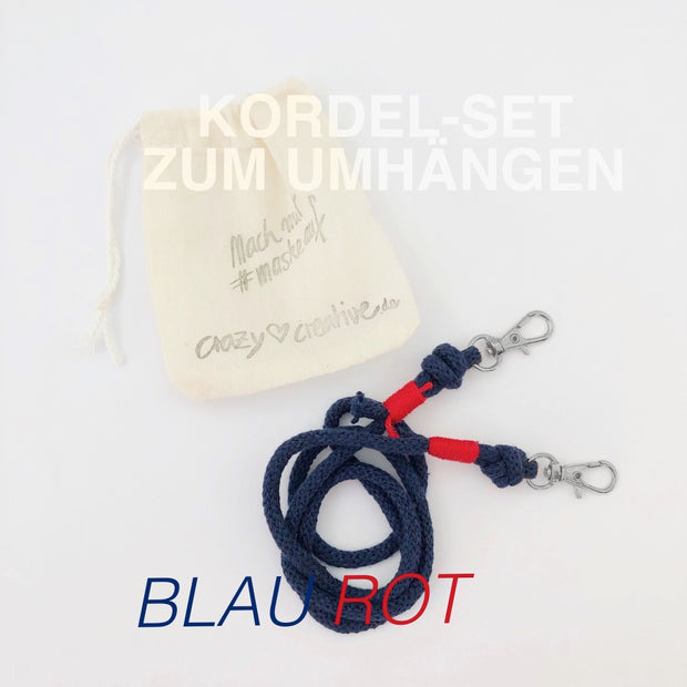 Kordel-set-maske-baumwolle-blau-rot-crazycreative.de-by-gabriele-van-de-flierdt-photo-1