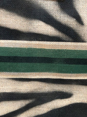 jute-tasche-zebra-black-green-detail-crazycreative.de-by-gabriele-van-de-flierdt