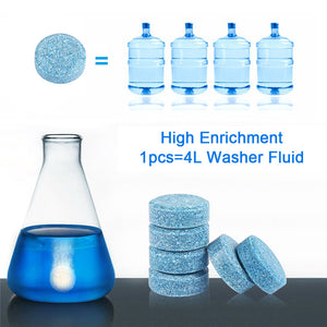 Glass Cleaning Tablet (10 PCS)