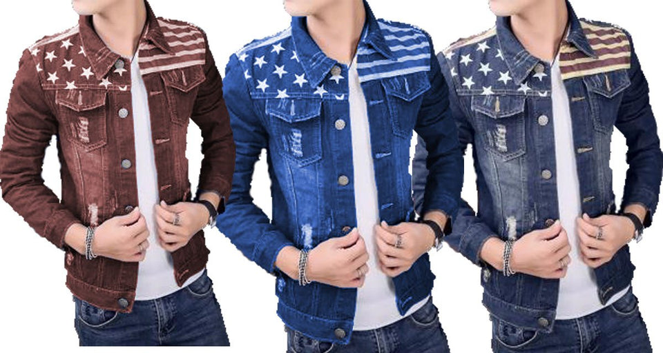 e4770c091d14 pack of 3 Denim Stylish Solid Comfortable Shirts for Men – ramtraders