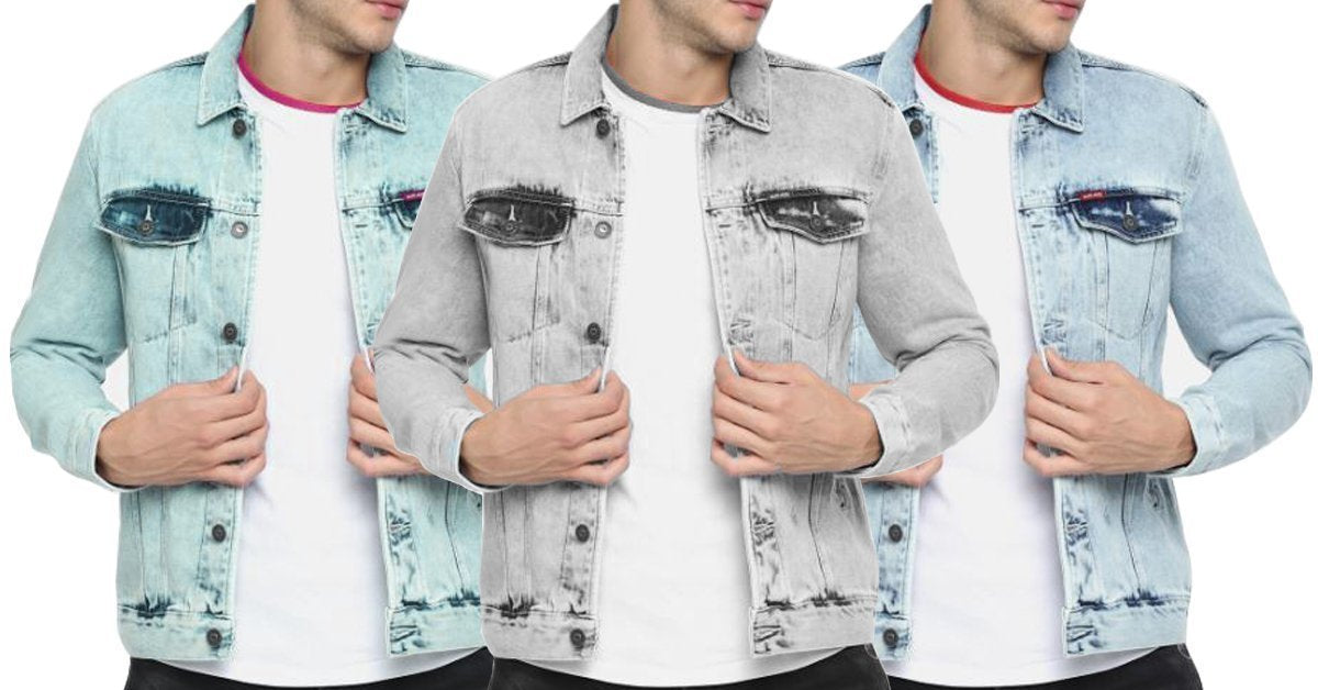 46488a7ee95f Denim Solid Comfortable Shirts for Men PACK OF 3 – ramtraders