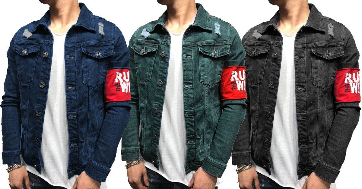 ef6276976c21 Combo of 3 Branded Style Double Pocket Solid Denim Shirts for Men –  ramtraders
