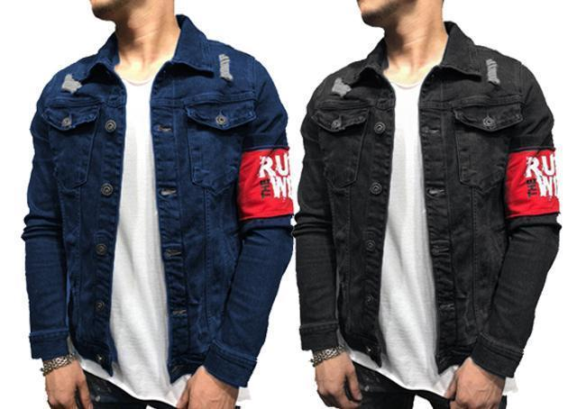 7fc24347cd22 New Branded Style Double Pocket Solid Denim Shirts for Men Combo of 2 –  ramtraders