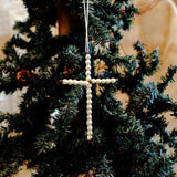 Beaded Cross Ornament
