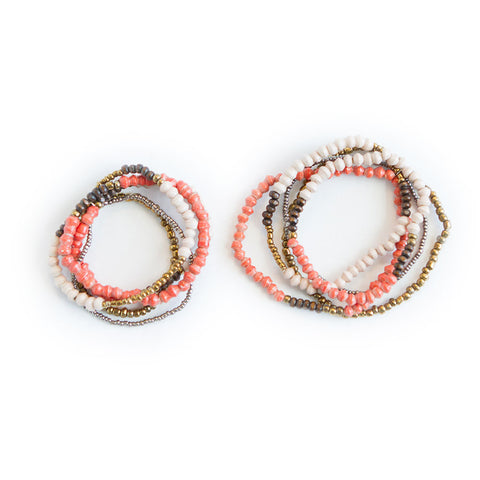 """Mommy & Me"" Bracelets Bundle"