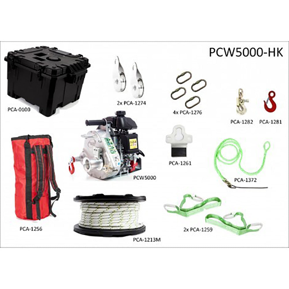 Portable Winch  PCA-0100 Case for Portable Winch PCW-5000//5000HS and Accessories